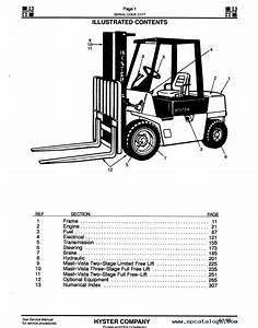 Wiring Diagram For Hyster Forklift