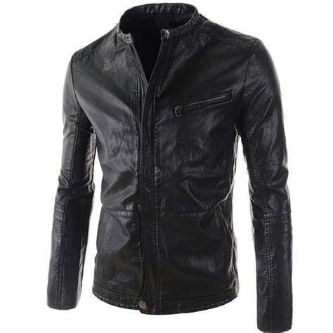cheap motorcycle leathers leather jacket men 2015 new stylish high quality cheap