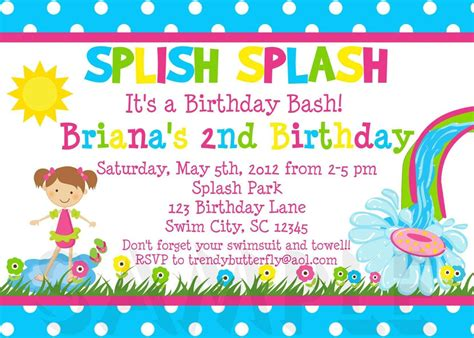 kids party invitation templates template update
