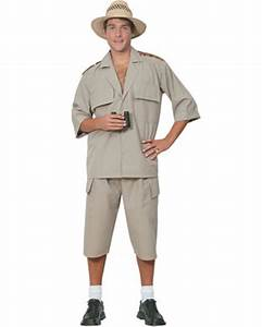 Safari Suit Mens Costume THEMES