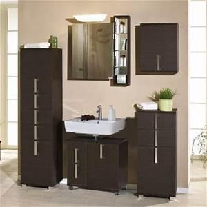 Badmöbel Set Braun : neu badezimmer komplett set 6 tlg bad badm bel esche braun waschplatz waschtisch ebay ~ Orissabook.com Haus und Dekorationen