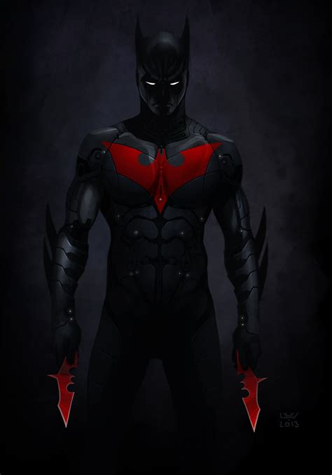 Batman Beyond Desktop Wallpaper Batman Beyond Costume Full Body Suited Superheros