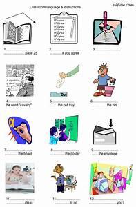Classroom Commands  U0026 Instructions Worksheet For Teachers