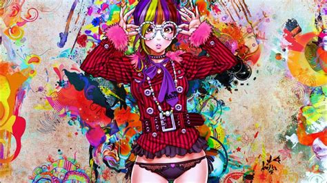 Colorful Anime Wallpaper - colorful anime hd wallpaper and paintings
