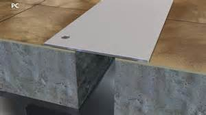 blended metal floor expansion joint cover 1 4 quot cs