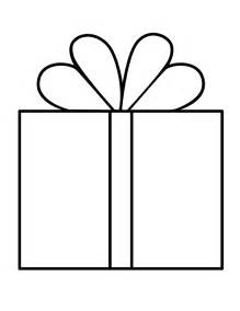 Printable Present Coloring Pages