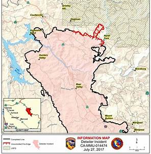 Detwiler Fire Nears Containment  Flare