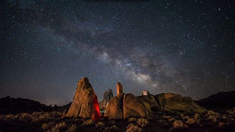 Into The Night Photography Time Lapse Alabama Hills