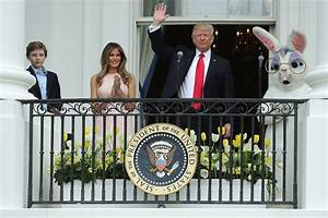 PHOTOS: Trumps hosted their first White House Easter Egg ...