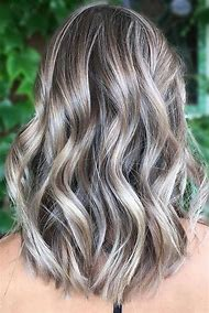 Silver Ash Blonde Hair with Highlights