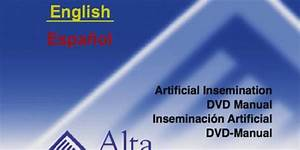 Artificial Insemination  Dvd Manual