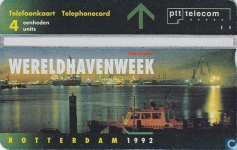 wereldhavenweek rotterdam  ptt telecom catawiki