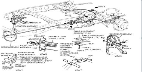 Ford E 250 Part Diagram by 1988 F250 Parking Brake Parts Ford Truck Enthusiasts Forums