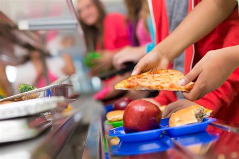 American school lunches
