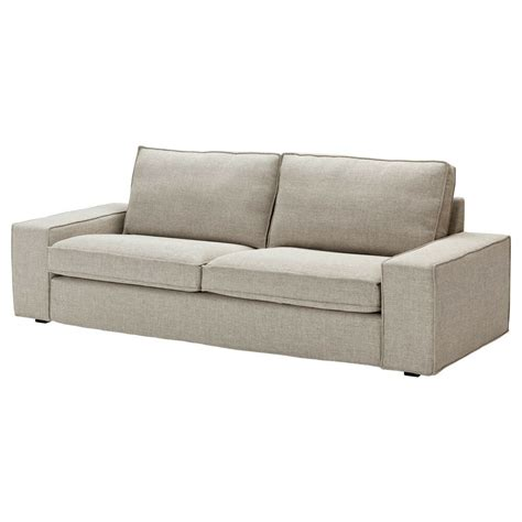 Grey Loveseat Cover by Ikea Kivik Sofa Cover 3 Seat Seater Slipcover Teno Light