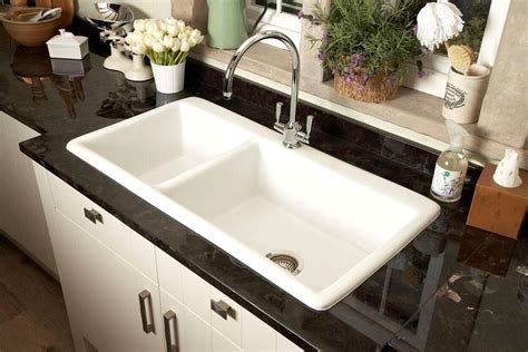 Big White Kitchen Sink by Kitchen Sink Spotlight Ceramic Kitchen Sink Pros And Cons