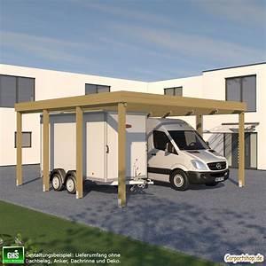 Innenliegende Dachrinne Carport : caravan carport grundkonstruktion 6x6 typ 280 ohne dachbelag ~ Whattoseeinmadrid.com Haus und Dekorationen