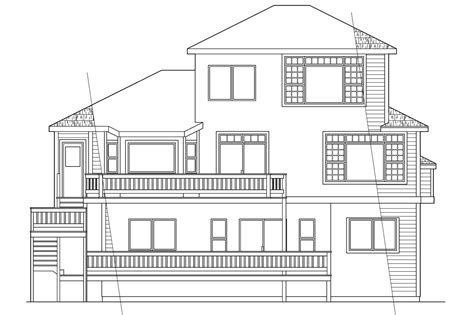 house plans for sloping lots sloping lot house plans