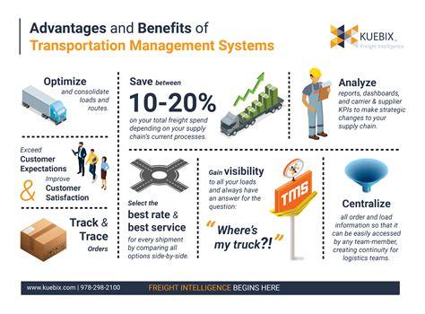advantages  benefits  transportation management