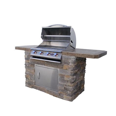 Patio Bistro Gas Grill Home Depot by Cal Bistro 470 7 Ft Bbq Island With
