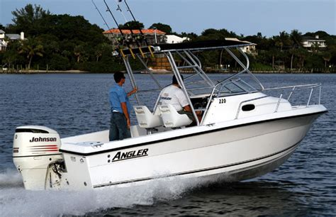 Angler Boat Cushions by Research 2009 Angler Boats 220wa On Iboats