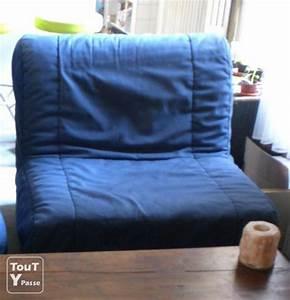 Canapé Convertible 1 Place : vends canape 1 place banquette convertible lit bz 80x190 nice 06000 ~ Teatrodelosmanantiales.com Idées de Décoration