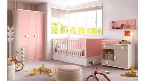 chambres pour bébé chambre bébé fille avec un lit jumeaux évolutif glicerio