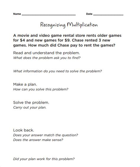 10 Long Multiplication Worksheets To Download For Free  Sample Templates