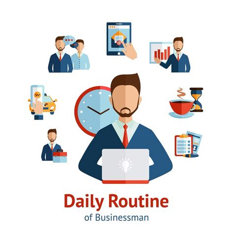 The Daily Routine Of The Business People What Are The