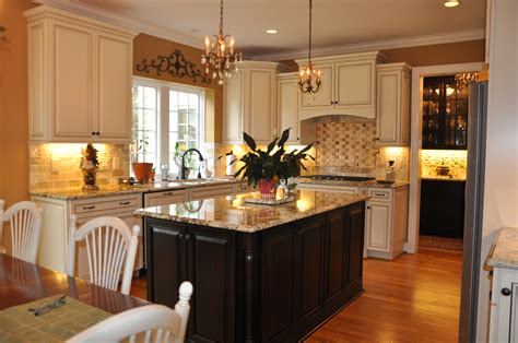 kitchen island with different countertop coordinating granite or quartz countertops with cabinets 8243