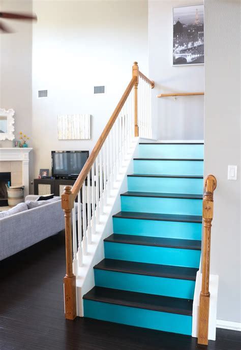 paint it ombre stairs a kailo chic