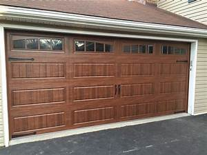 carriage doors stamped steel mount garage doors With brown carriage garage doors
