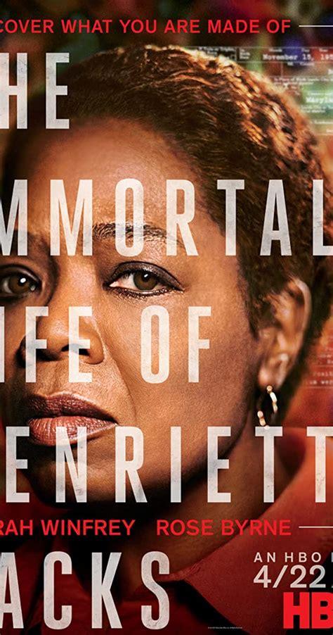 immortal life  henrietta lacks tv