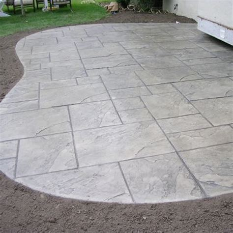 sted concrete backyard ideas cement patio designs 1000 ideas about sted concrete patios on pinterest concrete
