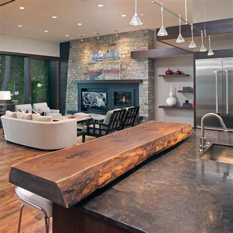 mensole cucina legno top snack per la cucina in legno massello falegnameria900
