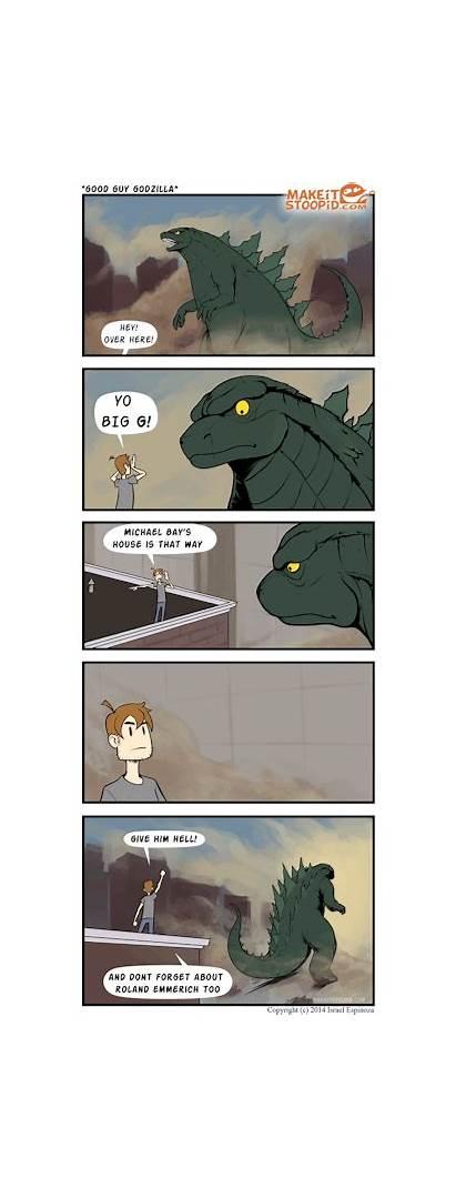 Godzilla Deviantart Guy Meme Comic Izra Know