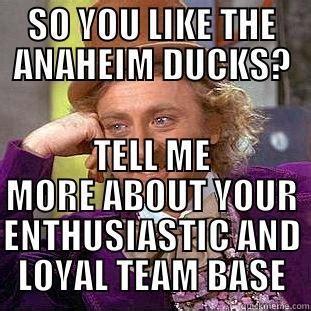 Anaheim Ducks Memes - ducks fans quickmeme
