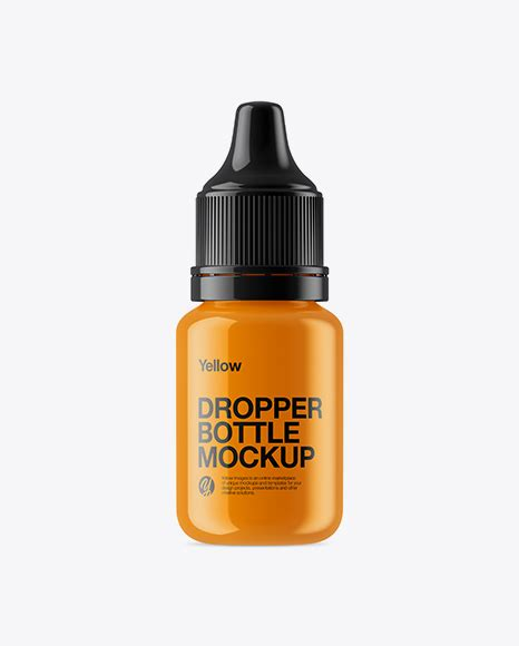 All free mockups include smart objects for easy edit. Free PSD Mockup Glossy Dropper Bottle Mockup Object ...