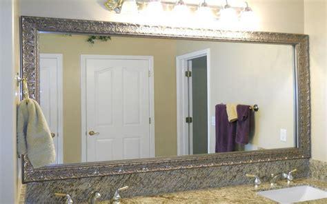 bathroom mirror decorating ideas bathroom mirror frame ideas aneilve