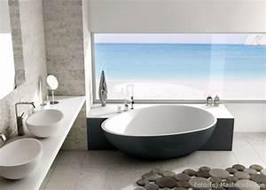 Freistehende Badewanne An Der Wand : freistehende badewannen wohnen ~ Bigdaddyawards.com Haus und Dekorationen