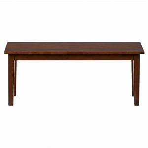 Simplicity wooden dining room table bench 452 14kd for Dining room table with bench