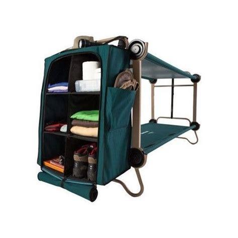 portable bunk beds bunk bed cing cot foldaway fishing hiking outdoor
