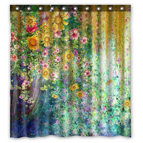 Ykcg Spring Sunflower Mystic Floral Flower Waterproof