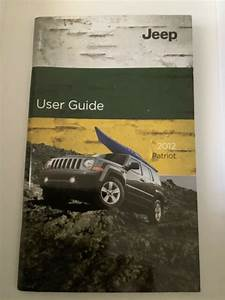 2012 Jeep Patriot User Guide