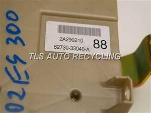 2002 Lexus Es 300 - 82730-33040 - Used