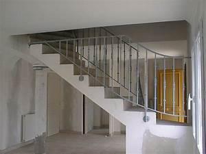 Rampe D Escalier Moderne : rampes d 39 escalier int rieur et ext rieur lyon mions portail ~ Melissatoandfro.com Idées de Décoration
