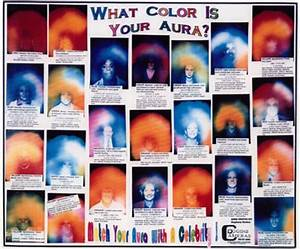 MEANING OF COLORS IN AURAS