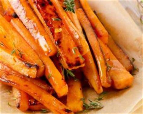 cuisiner carotte recette de patate douce et carotte rôties aux épices i g
