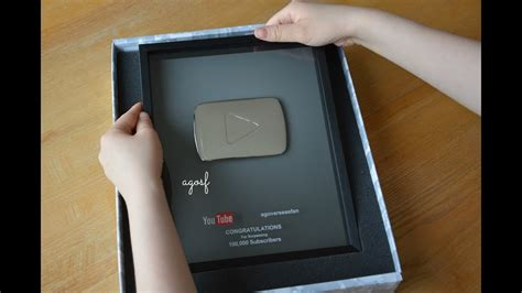 Subscribers Silver Play Button Youtube