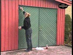 Putz Schleifen Per Hand : anstrich einer holzfassade mit ottosson lein lfarbe p doovi ~ Watch28wear.com Haus und Dekorationen